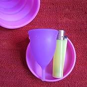 Copa Menstrual Sileu Cup Tulip - Flexible fácil de poner y quitar suave hipoalergénica - La más vendida en farmacias, recomendada por ginecólogos - ...