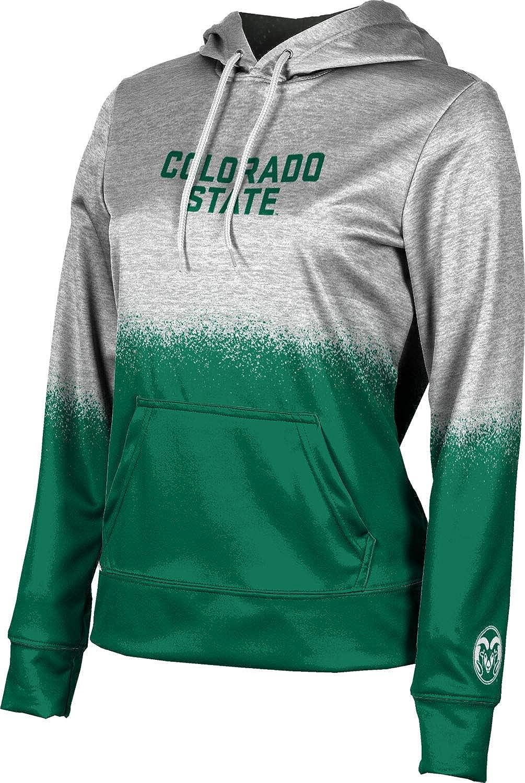 ProSphere Colorado State University Girls' Pullover Hoodie, School Spirit Sweatshirt (Spray Over)