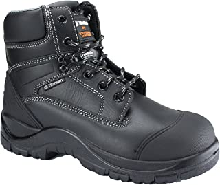 Titanium Leather Safety Working Boots with Composite Toe Cap