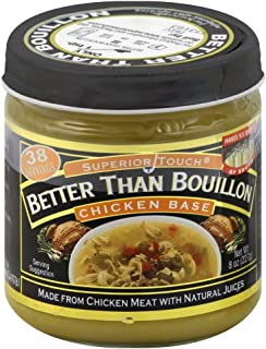 Better Than Bouillon Chicken Base, 8 ounce Jars (Pack of 6)