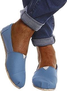 Leif Nelson Espadrilles LN101SS - Chaussures à rayures pour les loisirs et les vacances - Chaussures d'été légères et plat...