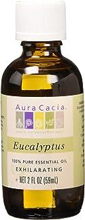 Aura Cacia Exhilarating Eucalyptus 100% Pure Essential Oil - 2 Oz