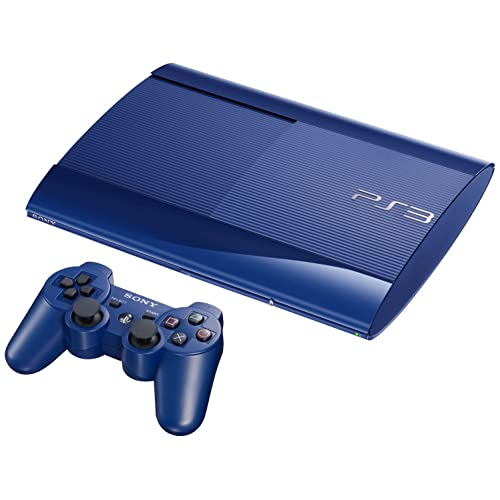 Sony PlayStation 3 Limited Edition Azurite Blue 500GB Super Slim Console