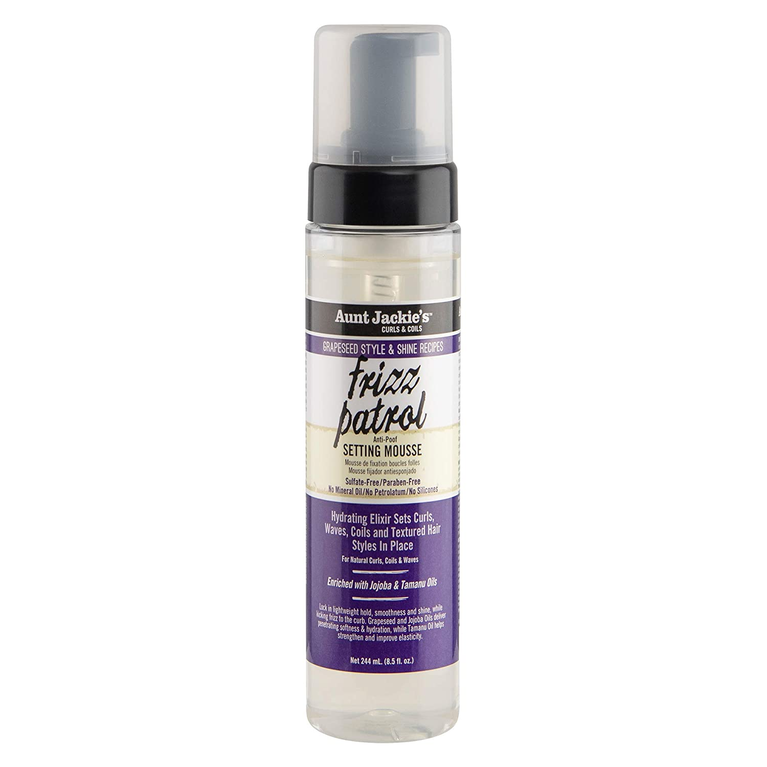 Aunt Jackie's Grapeseed Style and Recipes Frizz Patrol Ant 70% OFF Outlet Shine Selling rankings