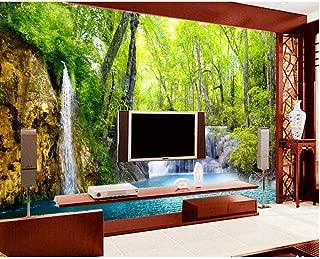 Pbldb Customized Large Any 3D Wallpaper Hd Falls Scenery Live Room Tv Wall Wallpaper Paisaje Wallpaper Paper 3D-120X100Cm