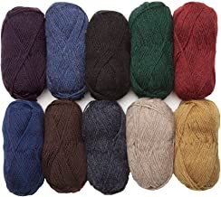 Knit Picks Wool of The Andes Worsted Weight Yarn (10 Balls - Home Décor)