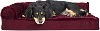 Furhaven Pet Dog Bed | Ergonomic Contour Lounger &...