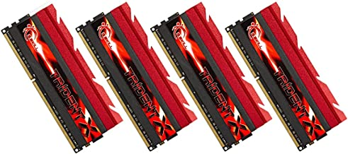 32GB G.Skill DDR3 PC3-19200 2400MHz Trident X Series CL10 (10-12-12-31) Quad Channel kit