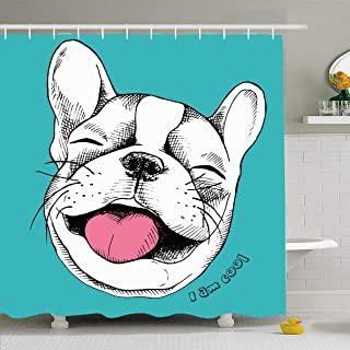 french bulldog emoticon