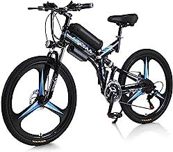 Bicicleta eléctrica Hyuhome 350W 36V Bicicleta de montaña eléctrica para Adultos, Bicicleta eléctrica de 26