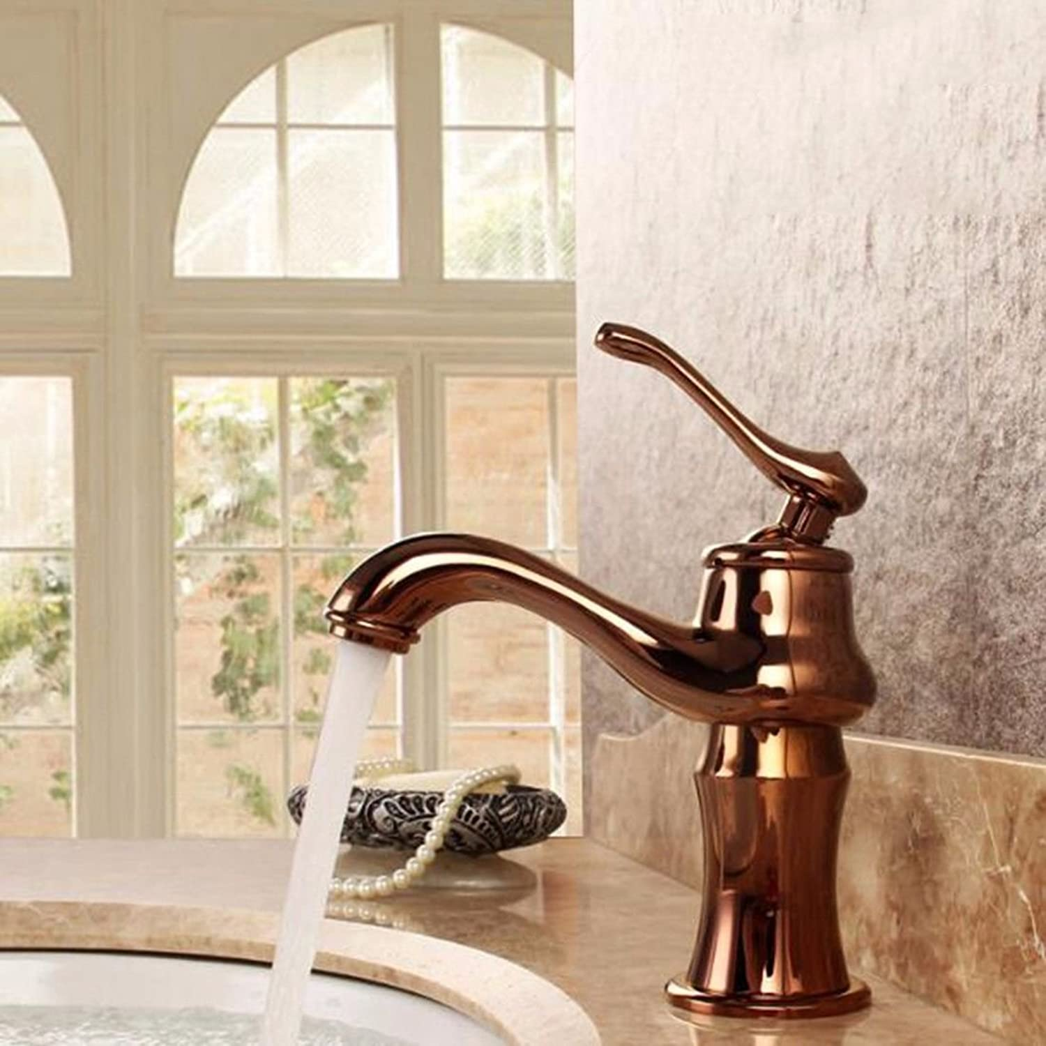 NewBorn Faucet Water Taps Hot And Cold Water Basin Cold Water Tap Antique Wash Basins Wash Basins Full Copper Single Hole Single Handle Water Tap Antique
