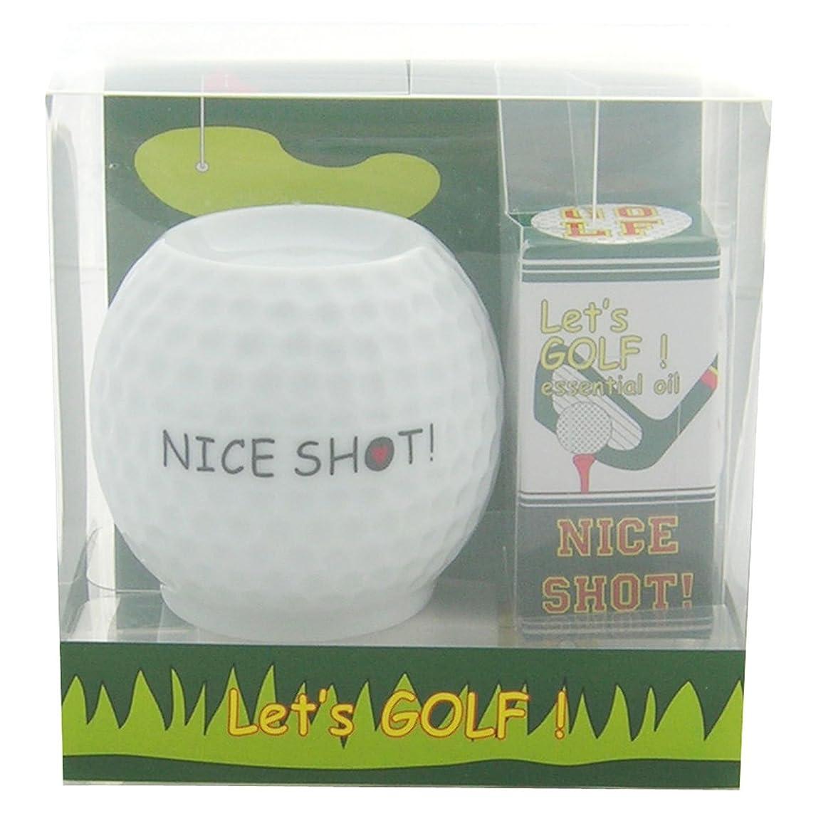 不正確中に試すフリート レッツ ゴルフ! アロマライトセット ナイスショット! 4ml