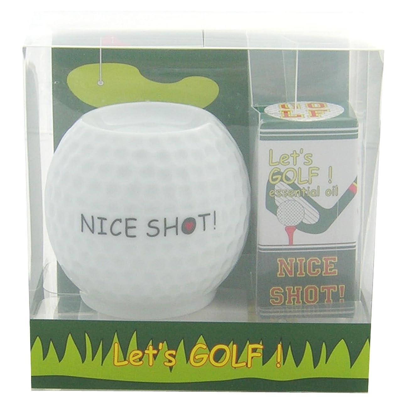 フリート レッツ ゴルフ! アロマライトセット ナイスショット! 4ml