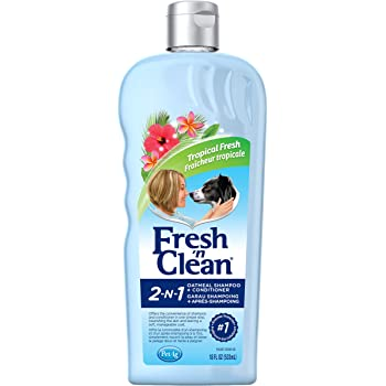 Fresh'n Clean Pet 2-in-1 Oatmeal and Baking Soda Formula Conditioning Shampoo