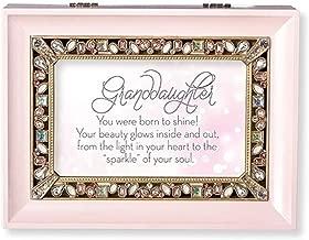 Roman Granddaughter Large Pink Jewelry Music Box