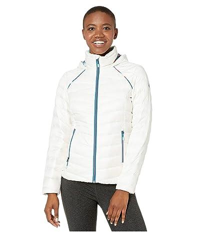 Spyder Timeless Hoodie Down Jacket (White) Women