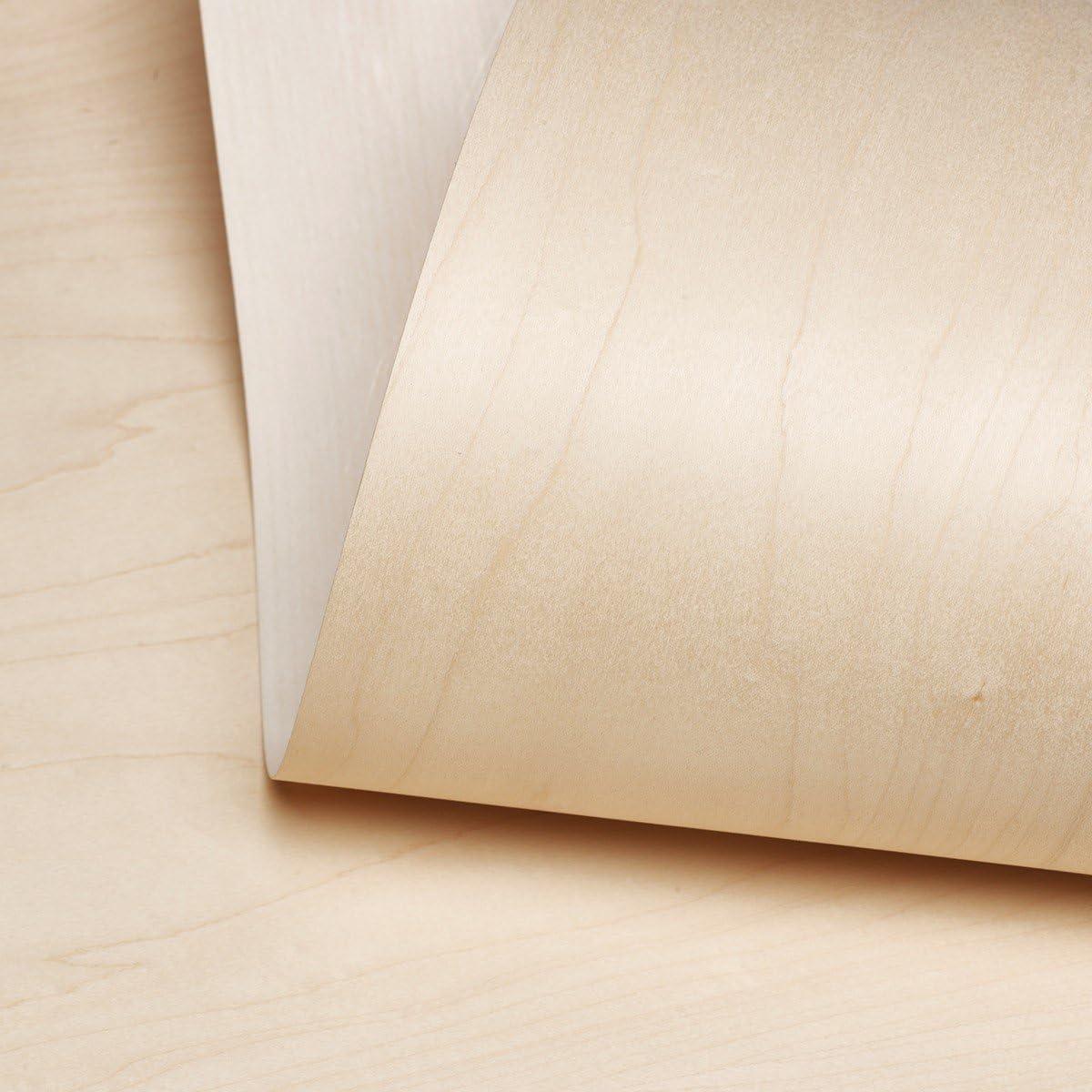 Edge Supply Maple Challenge the lowest price of Japan ☆ Wood Veneer Sheet Credence Flat Cut 24