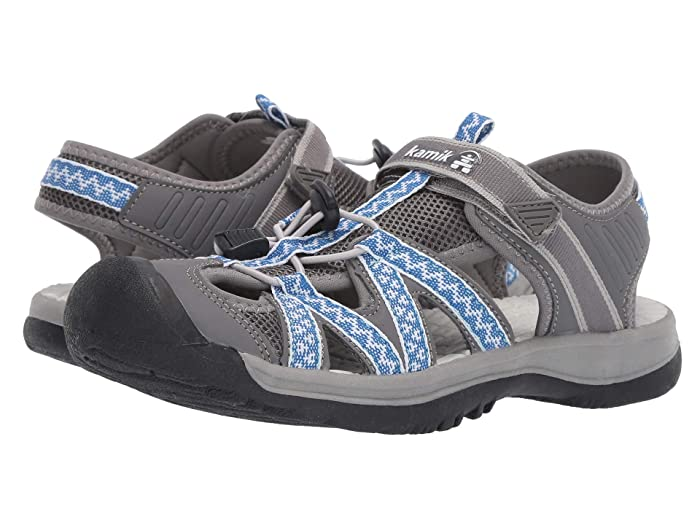 Kamik  Islander2 (Grey) Womens Shoes