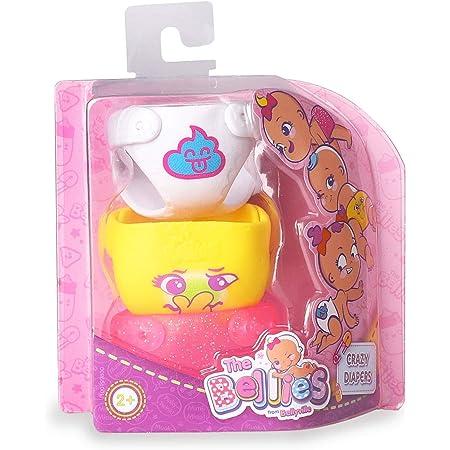 The Bellies - Crazy Diapers, pañales Divertidos Bellies, Accesorios muñecas para niñas y niños a Partir de 3 años(Famosa 700016270)