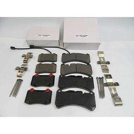 Maserati Ghibli S SQ4 Quattroporte rear brake pads HIGH PERFORMANCE 673005730