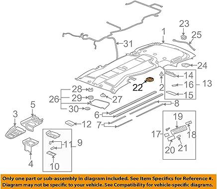 GM 10332661 RETAINER ASM-RR S/D WDO Headlight Parts & Accessories ...
