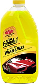 Best formula 1 wash and wax Reviews