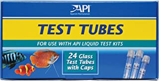 API REPLACEMENT TEST TUBES WITH CAPS For Any Aquarium Test Kit Including API Freshwater..