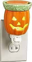 Darice Jack-O'-Lantern Style Ceramic Plug in Wax Melter