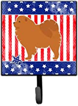 Caroline's Treasures USA Patriotic Chow Leash or Key Holder BB3351SH4, Small Multicolor