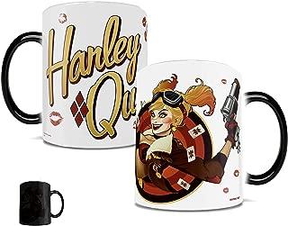 Morphing Mugs DC Comics Justice League (Harley Quinn Bombshell) Ceramic Mug, Black