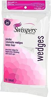 Swisspers Premium Pro Cosmetic Wedges, Latex-Free Makeup Wedge, Jumbo Size, 16Count Bag