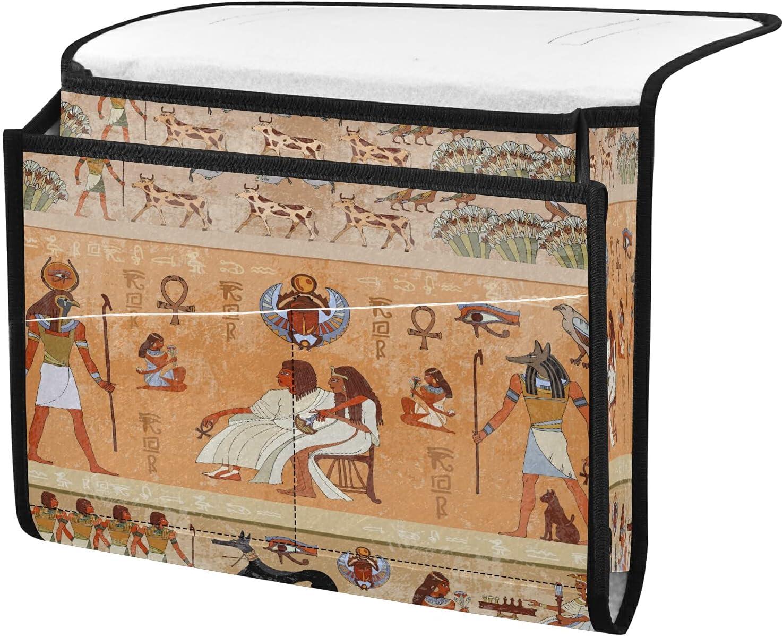Bedside 5% OFF Storage Organizer Seattle Mall Tribal Ancient Ta Caddy Egypt Beside