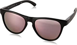 1e2652f202d Under Armour Round Sunglasses UA SCHEME SATIN BLACK PINK MULTIFLECTION LENS  M