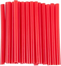 Cuasting 20 Stks Rode Hete Smeltingslijm Zelfklevende Stokken 7x100mm voor Ambachtelijk Model