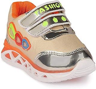 Walktrendy Unisex Kid's Sneakers-11.5 UK EU (12.5 US) (wty1241_Gold_30)