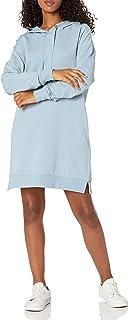 The Drop Women's Iona Long Sleeve Hooded Mini Sweatshirt Dress