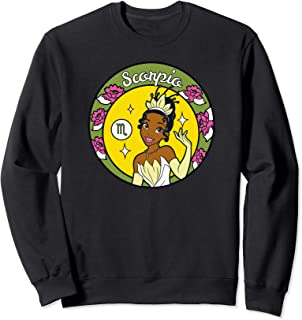 Disney Princess Tiana Scorpio Zodiac Sweatshirt