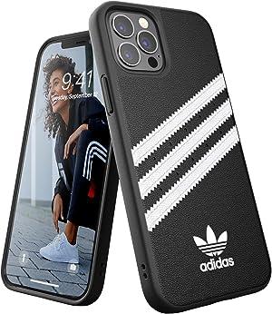 アディダスオリジナルス iPhone12 ケース / iPhone12pro ケース 6.1インチ アディダス SAMBA (サンバ) ブラック[adidas FW20 for iPhone 12 / 12 Pro black/white SAMBA]