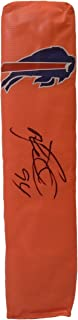Buffalo Bills Mario Williams Autographed Hand Signed Full Size Logo Football Touchdown End Zone Pylon with Proof Photo of Signing and COA- NC State- North Carolina State University Wolfpack