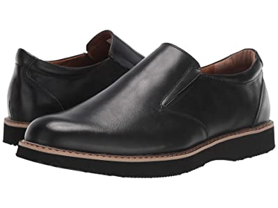 Deer Stags Walkmaster Twin Gore Slip-On (Black) Men