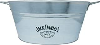 Jack Daniel's Galvanized Tub – Official Jack Daniel's Product and Logo – 20 inches