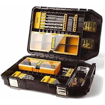 Dewalt Juego de Brocas y Puntas DT9291-QZ, 95 Piezas en maletín de Accesorios XXL Maxisafe, Set: Amazon.es: Bricolaje y herramientas