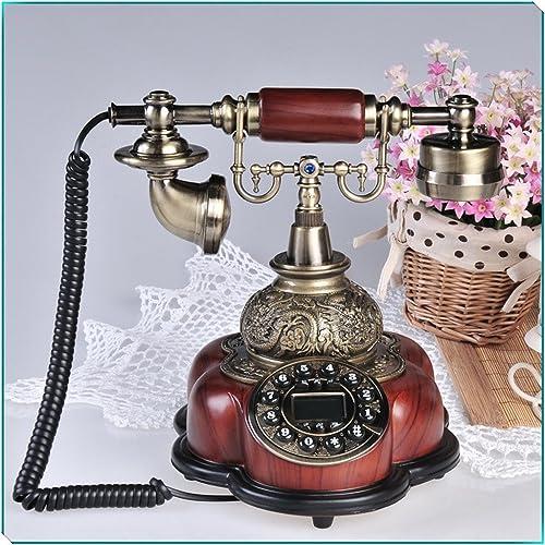 FANDBO De style europ¨ en Antique r¨ sine Retro mode Creative T¨ l¨ phone 5200