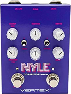 Vertex NYLE Compressor/Preamp Guitar Effects Pedal