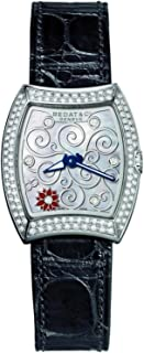Bedat & Co Women's No.3 Limited Edition 28 Pieces Diamond Leather Band Steel Case Quartz Watch 316.030.M02