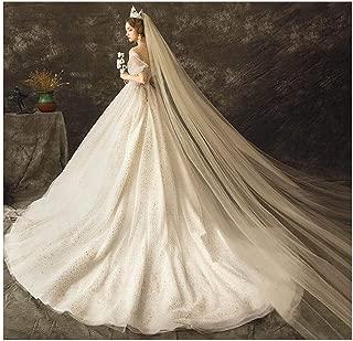 Fdesigner Bride Cathedral Veil Wedding Chapel Veils Bridal Headpieces Statement Veils Long Soft Veil with Comb 2T