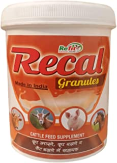 REFIT ANIMAL CARE - Milk Booster for Cow, Cattle, Buffalo, Goat, Sheep, Horse & Swine (RECAL-Granules 1 Kg.)