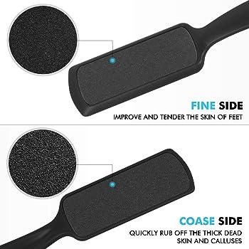 Foot Scrubber Callus Remover for Feet - Ejiubas Foot Scraper Pedicure Foot File Colossal Foot Rasp for Dead Skin Grat...