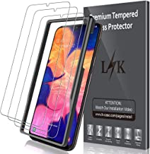LK [3 Pack Pellicola Protettiva per Samsung Galaxy A10, Protezione Schermo Vetro Temperato Screen Protector [Garanzia di Sostituzione a Vita]