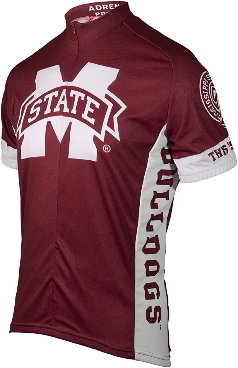 Adrenaline Promotions NCAA Mississippi State University Cycling Jersey